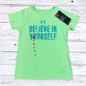 Under Armour believe in yourself graphic t-shirt